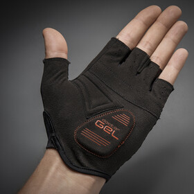 GripGrab Solara Lightweight Padded Tan Through Short Finger Gloves black